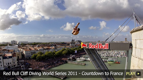 Red Bull Cliff Diving World Series 2011 - Countdown to La Rochelle, France