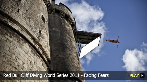 Red Bull Cliff Diving World Series 2011 - Facing Fears at La Rochelle, France