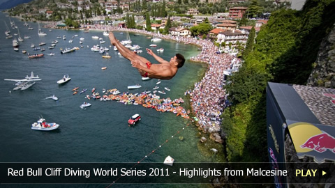 Red Bull Cliff Diving World Series 2011 - Highlights from the Malcesine, Italy Event