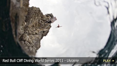 Red Bull Cliff Diving World Series 2011 - The World's Best High Divers in Ukraine
