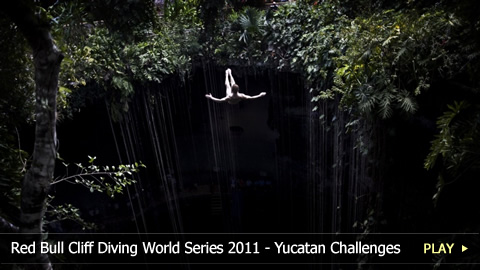 Red Bull Cliff Diving World Series 2011 - Challenges of the Yucatan Competition