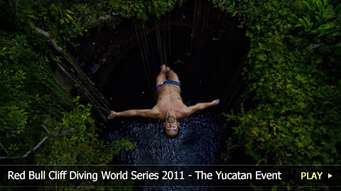 Red Bull Cliff Diving World Series 2011 - The Yucatan Competition Event
