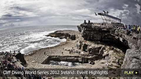 Cliff Diving World Series 2012 Ireland: Event Highlights