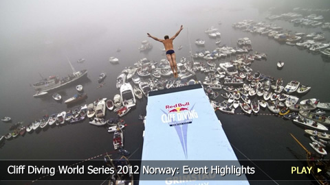 Cliff Diving World Series 2012 Norway: Event Highlights