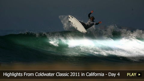 Surfing Highlights From O'Neill Coldwater Classic 2011 in California - Day 4