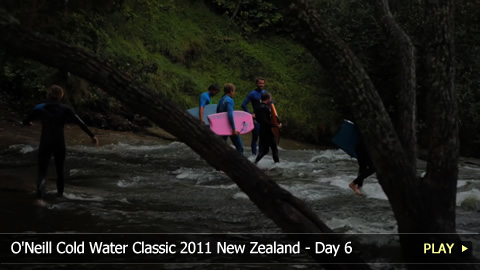 O'Neill Cold Water Classic 2011 New Zealand - Surfing Highlights: Day 6