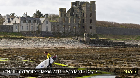 O'Neill Cold Water Classic 2011 - Scotland - Highlights of Day 3