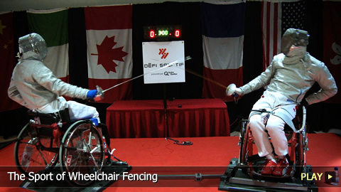 The Sport of Wheelchair Fencing