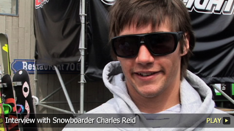 Interview With Snowboarder Charles Reid
