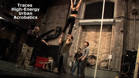 High-Energy Urban Acrobatics
