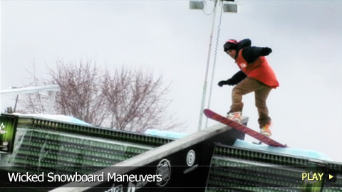 Wicked Snowboard Maneuvers