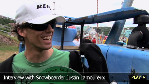 Interview with Snowboarder Justin Lamoureux
