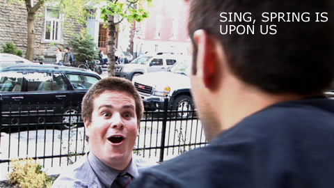 Comedy Skit: Spring Song