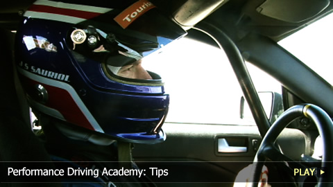 Performance Driving Academy: Tips