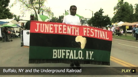 Buffalo, NY and the Underground Railroad