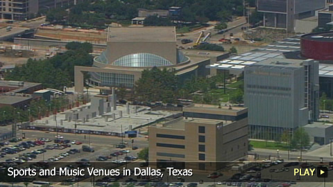 Sports and Music Venues in Dallas, Texas