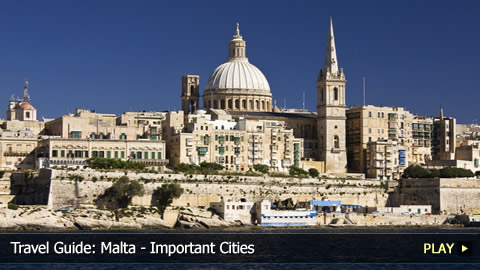 Travel Guide: Malta - Important Cities