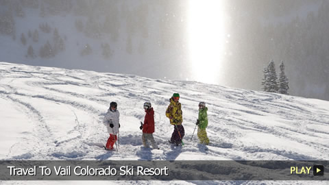 Travel To Vail Colorado Ski Resort