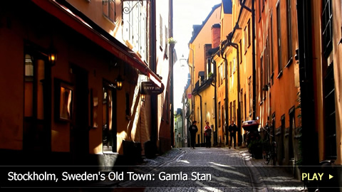 Stockholm, Sweden's Old Town: Gamla Stan