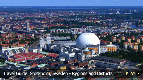 Travel Guide: Stockholm, Sweden - Regions and Districts