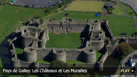 Pays de Galles: Les Chteaux et Les Murailles du Roi douard  Gwynedd