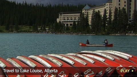 Travel To Lake Louise, Alberta