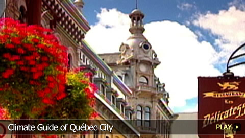 Climate Guide of Québec City