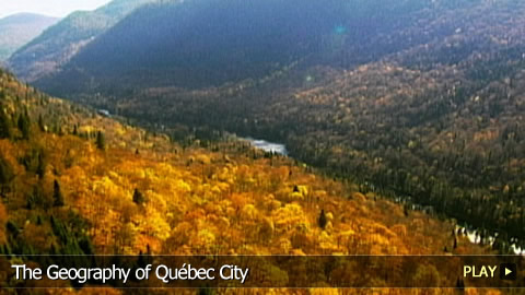 The Geography of Québec City