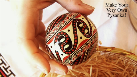How to Make Ukraine Easter Eggs
