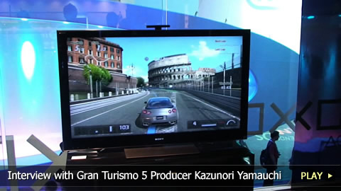 Interview With Gran Turismo 5 Producer Kazunori Yamauchi at E3 2010