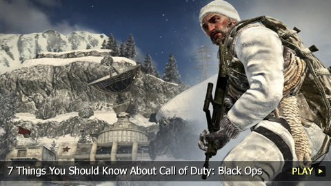 7 Things You Should Know About Call of Duty: Black Ops