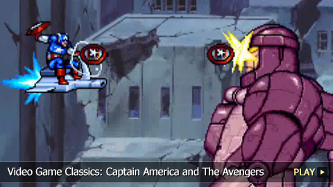 Video Game Classics: Captain America and The Avengers
