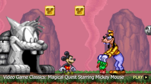 Video Game Classics: Magical Quest Starring Mickey Mouse