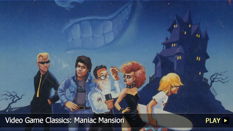 Video Game Classics: Maniac Mansion