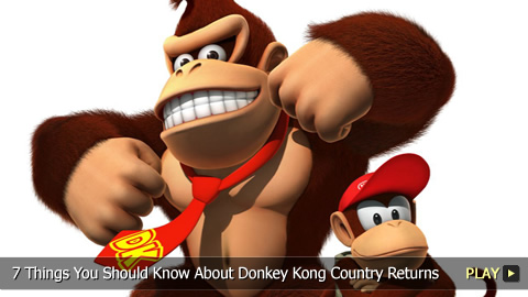 7 Things You Should Know About Donkey Kong Country Returns