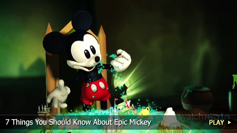 7 Things You Should Know About Epic Mickey