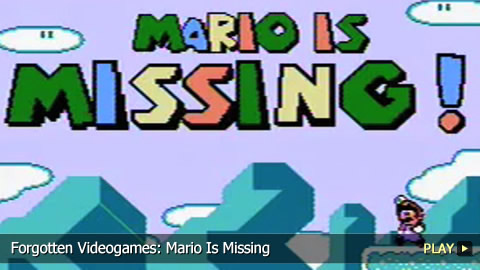 Forgotten Videogames: Mario Is Missing