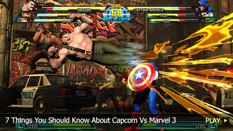 7 Things You Should Know About Capcom Vs Marvel 3: Fate of Two Worlds