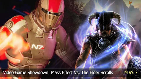 Mass Effect Vs. The Elder Scrolls - Video Game Showdown