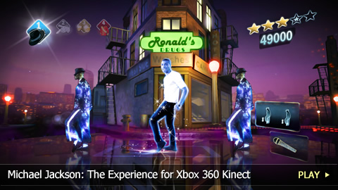 Michael Jackson: The Experience for Xbox 360 Kinect