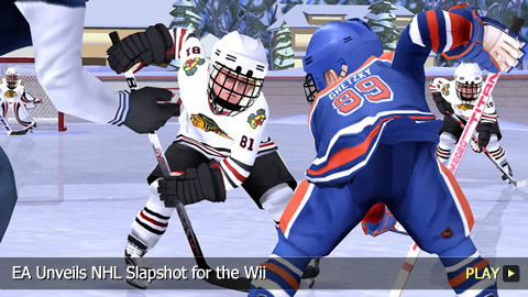 EA Unveils NHL Slapshot for the Wii