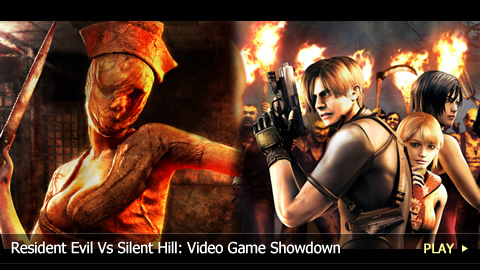 Resident Evil Vs Silent Hill: Video Game Showdown