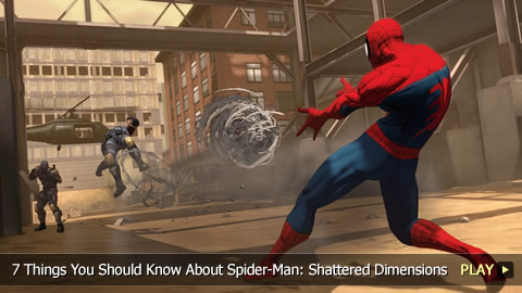 7 Things You Should Know About Spider-Man: Shattered Dimensions