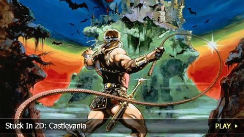 Stuck In 2D: Castlevania
