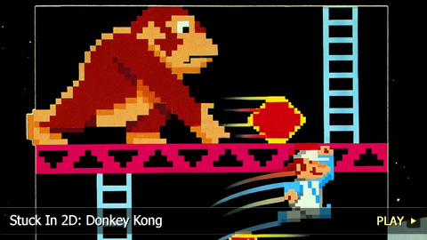 Stuck In 2D: Donkey Kong