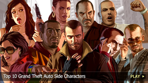 Top 10 Grand Theft Auto Side Characters