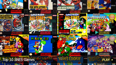 great snes games list