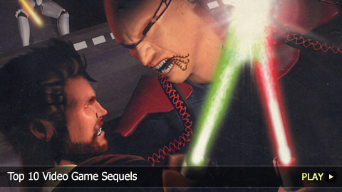 Top 10 Video Game Sequels