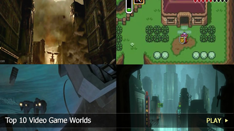Top 10 Video Game Worlds