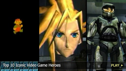 Top 10 Iconic Video Game Heroes
